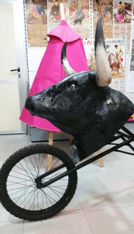 Carretones taurinos para niños