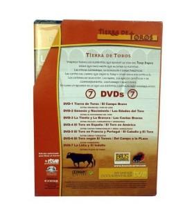 """Pack DVD´S """"Tierra de toros"""""""