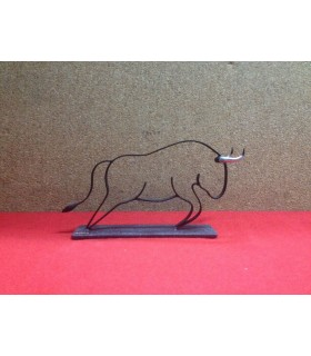 Figura taurina Toro Genet Completo