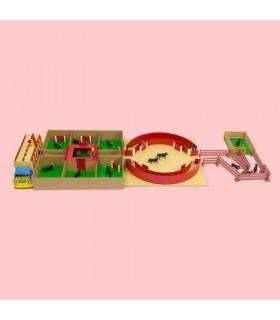 Super ensemble de jouets de tauromachie
