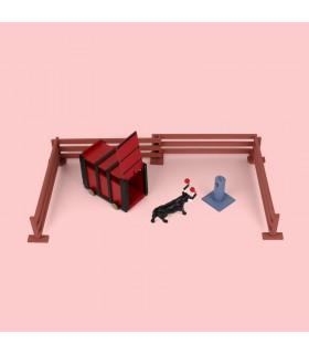 """Modèles de tauromachie """"Crate taureaux"""""""