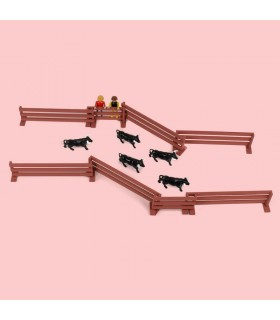 "Set of bullfighting toys ""locking up"""