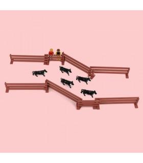 "Set of bullfighting toys ""locking up""  - 2"