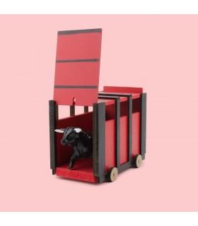 Cajón jouet de taureau