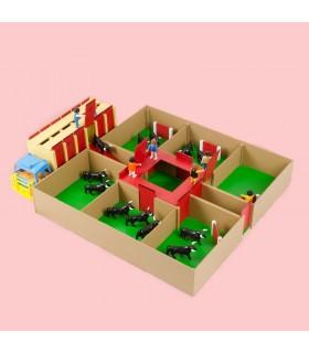 Conjunto de juguetes taurinos Toriles y Camión