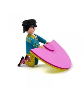 Playmobil torero recibiendo a Portagayola