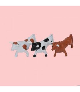 Conjunto de toros mansos