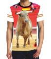 Camiseta deportiva Toro jabonero en la plaza