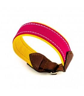 Bracelet en tissu de cape avec fermeture à boucle