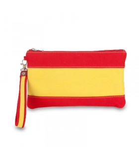 Bolso de mano con bandera de España