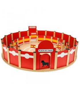 Arènes de jouets avec piste intérieur 65 cm.
