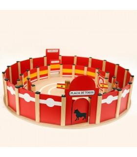 Arènes de jouette de 80 cm. avec allée intérieure