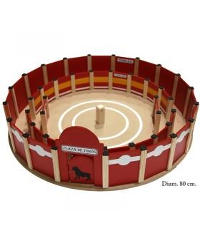 Plaza de toros 80 cm. con callejón interior