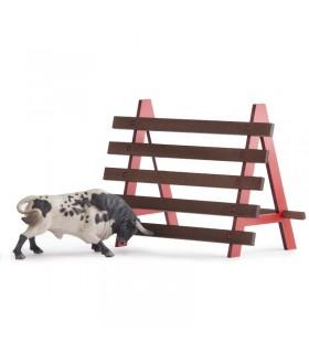 Grande barrière pour les taureaux