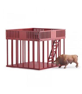 Cadafal rojo juguete taurino