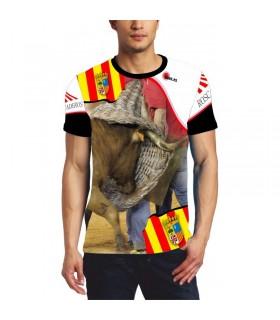 Chemise taurine avec roscaderos Aragón
