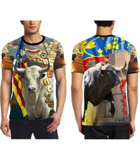 Camiseta taurina concurso de Fallas 2018
