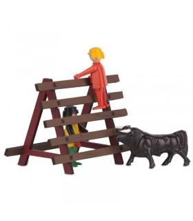 Bullfighting bull barrière jouet
