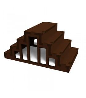 Jeu de pyramide taurine pour taureaux
