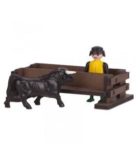 Juguete taurino banco para toros