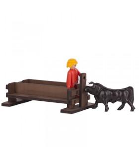 Banco para toros con pilón