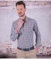 "Men's checkered shirt brand ""La Española"""