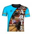 Blue-cut taurine T-shirt