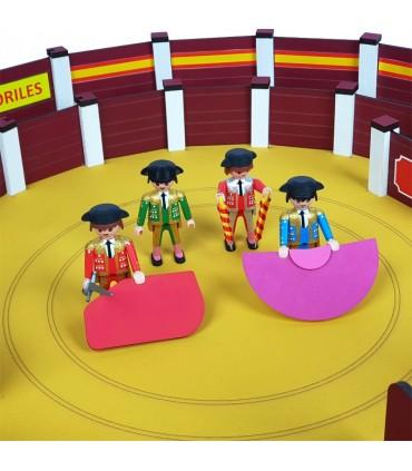 Cuadrilla de 4 toreros playmobil