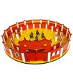 Pack square 60 cm. with alley + Bullfighting Puzzle with bullfighters