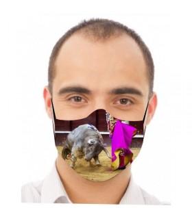 copy of Mascarilla con toro a dos patas  - 1