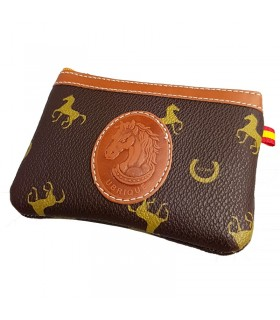 copy of Blue purse with Spanish flag and horse ornament  - 1