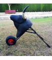 copy of 70 cm black wagon for children 7 to 12 years old