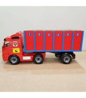 Camion de transport taureaux avec 6 cages individuelles Mastoro - 1