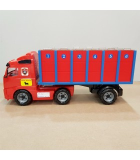Transport truck with 6 individual cages for large bulls Mastoro - 1
