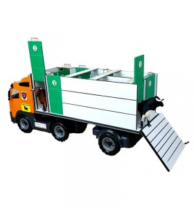 Bull truck with individual cages and rear ramp Mastoro - 1