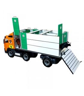 Camion taurin avec cages individuelles et rampe arrière Mastoro - 1