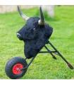 Children's bullfighting wagon With hair Mastoro - 1