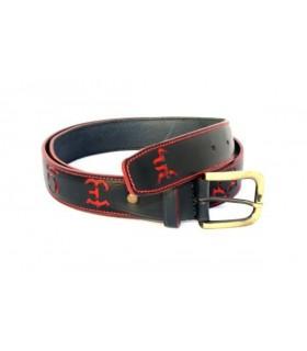 Cinturón taurino con hierros