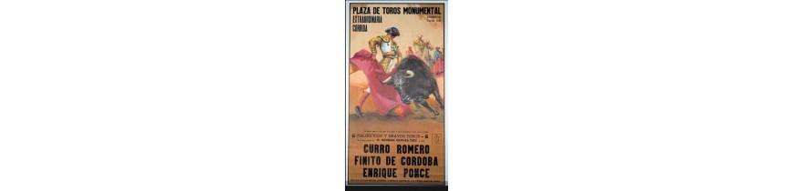Original Bullfighting Posters [Authentic] Mastoro